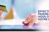 Nouveauté: service de paiement en ligne disponible 24h/24h
