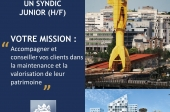 Recrutement Syndic Junior (H/F)