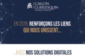 Le cabinet GAALON GUERLESQUIN vous souhaite une excellente année 2018!