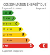 Diagnostic de Performance énergétique de niveau G
